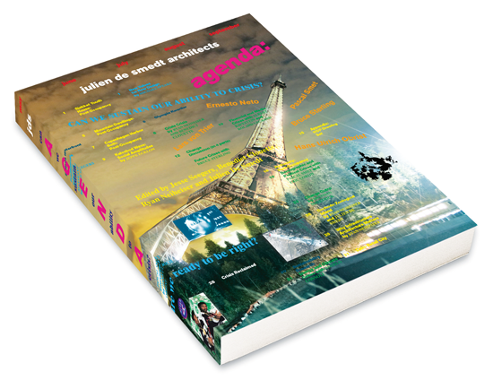 JDS RELEASES NEW BOOK: AGENDA